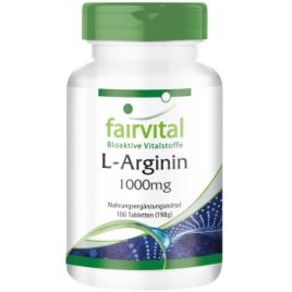 L-Arginina 1000mg - 100 Pastillas
