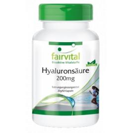 Ácido hialurónico 200mg-60 cápsulas - 69606