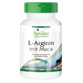 L-Arginina con Maca - 300 pastillas - 74030