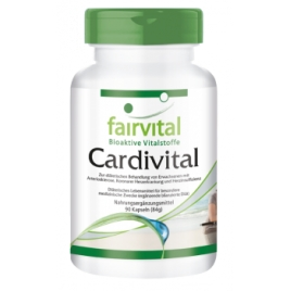 Cardivital - vitaminas del corazón- 90 Cap - 81209