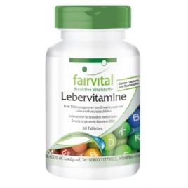 Vitaminas para el hígado - 60 Pastillas - 89406