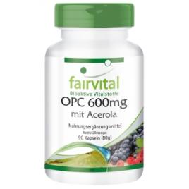OPC 600mg con acerola - 90 cápsulas - 89509