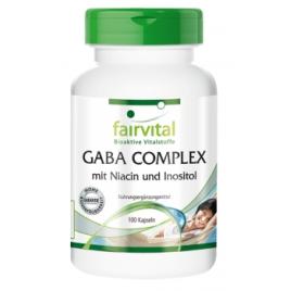 GABA COMPLEX con Niacina e Inositol-100 Cap-93403