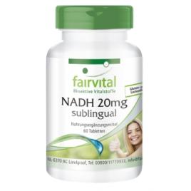 NADH 20mg sublingual-60 pastillas - 94106