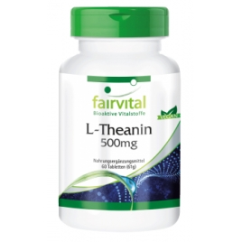L-Theanin 500mg - 60 Caps. - 68606