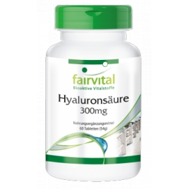 Ácido hialurónico 300mg - 60 Pastillas - 85706