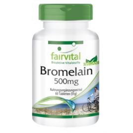 Bromelaina 500mg - 60 Pastillas - 83006