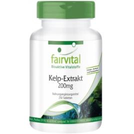 Extracto de alga Kelp 200mg -250 pastillas - 80325