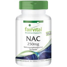 NAC 250 mg -90 cápsulas