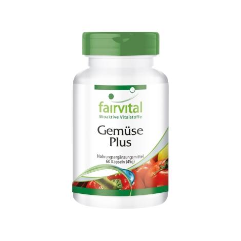 Verduras Plus - 60 cápsulas