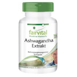 Extracto de Ashwagandha 500mg - 60 Cápsulas