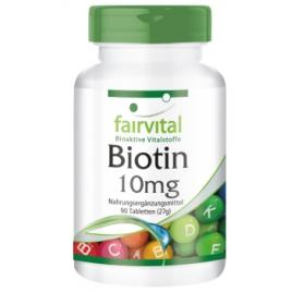 Biotina 10mg - 90 Pastillas