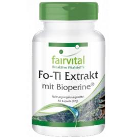 Fo-Ti - Extracto- 90 Cápsulas