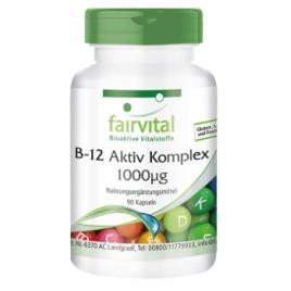 Complejo Activo de B12 1000µg - 90 Cápsulas