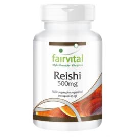 Reishi - 500mg - 90 Cápsulas