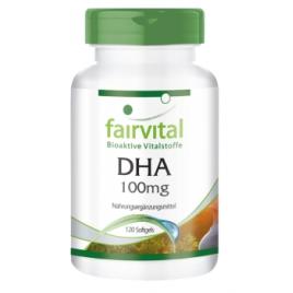 DHA 100mg - 120 Cápsulas