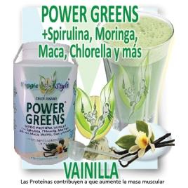 Power Green sabor VAINILLA. 1kg