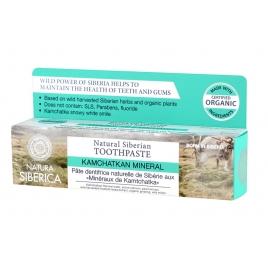 Pasta de dientes siberiana-Mineral Kanchatka