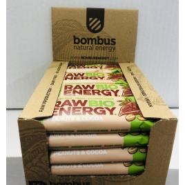 BOMBUS BIO Peanut&cocoa 50gr (20 uds.)