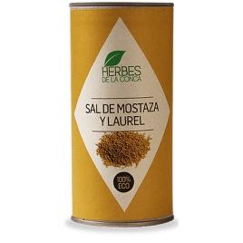 Salero cartón mostaza y laurel -ECO-
