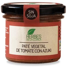 Paté vegetal de tomate sin soja -ECO-