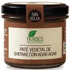 Paté vegetal de shiitake sin soja -ECO-