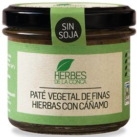 Paté vegetal de finas hierbas sin soja -ECO-