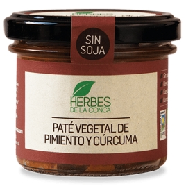 Paté vegetal de pimiento sin soja -ECO-