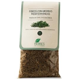 Fideos de espelta con hierbas mediterráneas -ECO-