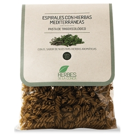 Espirales de trigo con hierbas mediterráneas-ECO-